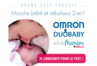 Test mouche bébé Duobaby de Omron
